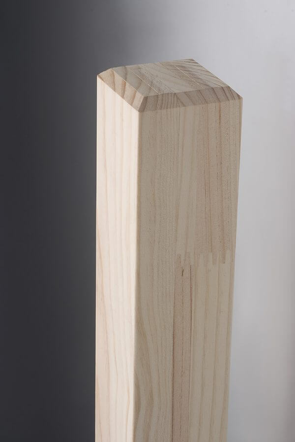 Pine Square Stair Post