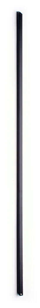 Plain Square Black Metal Stair Flight Baluster
