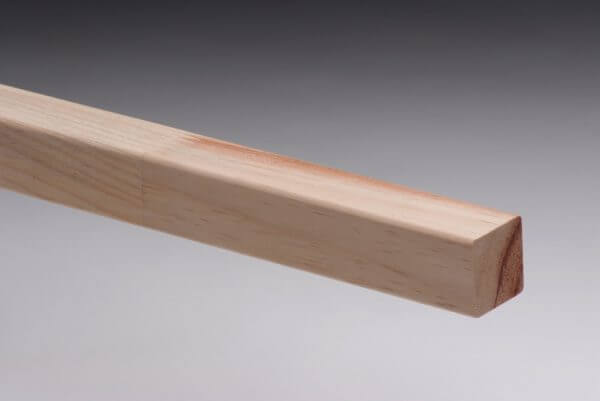 Square Pine Stair Baluster