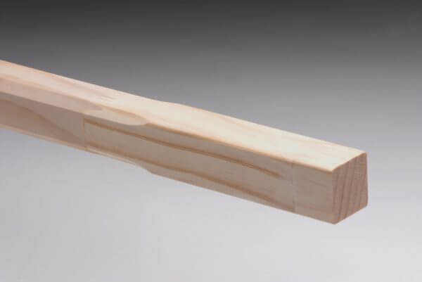 Chamfered Pine Stair Baluster
