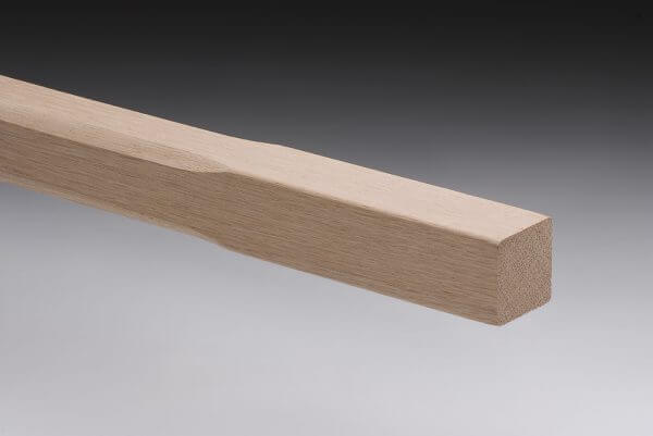 Chamfered American Oak Stair Baluster