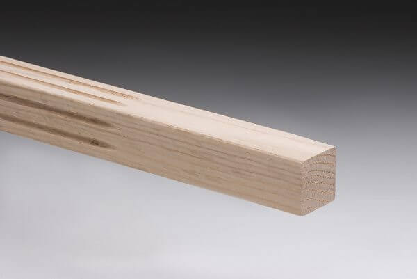 Fluted American Oak Stair Baluster